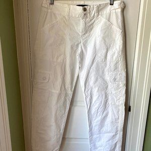 Anthropologie white pants